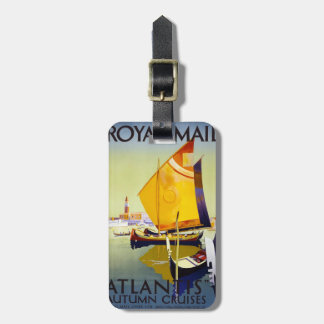 Vintage Royal Mail Travel Poster Luggage Tag