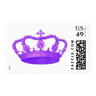 Vintage Royal Purple Crown Collection Stamps
