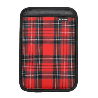 Vintage royal tartan iPad mini sleeve