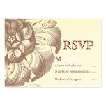 Vintage RSVP Card Business Card