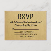 Vintage RSVP Card Mid Century Response Cards