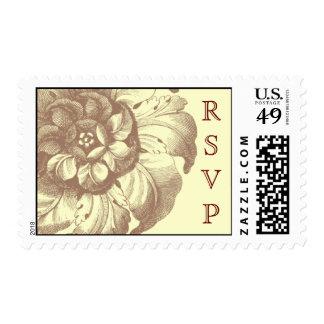 Vintage RSVP Postage (bridal)