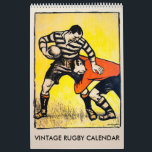 "Vintage Rugby Calendar<br><div class=""desc"">One for the rugby followers wall - at home or in the office</div>"