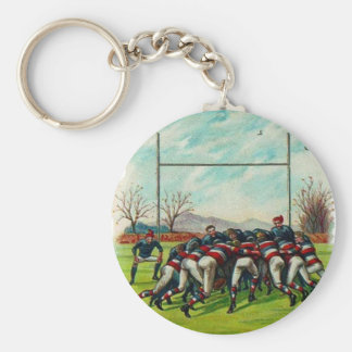Vintage RUGBY Match Key Chain