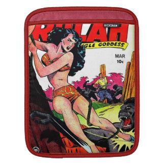 Vintage Rulah 1949 Comic Sleeve iPad Sleeves