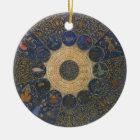 Vintage Rulers Horoscope, Antique Zodiac Ceramic Ornament