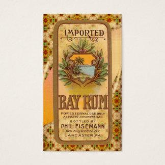 Vintage Rum Poster Business Card