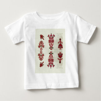 Vintage Rumanian cross stitch embroidery Baby T-Shirt