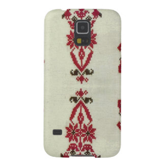 Vintage Rumanian cross stitch embroidery Cases For Galaxy S5