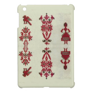 Vintage Rumanian cross stitch embroidery Case For The iPad Mini