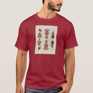 Vintage Rumanian cross stitch embroidery T-Shirt