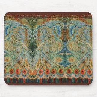 Vintage Rumanian Fabric design Mouse Pad