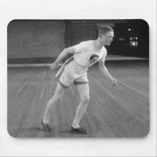 Vintage Runner, Early 1900s Mouse Pad