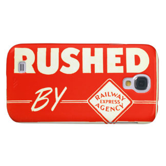 Vintage Rushed By Railway Express Samsung S4 Case