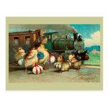 Vintage ruso Pascua Postales