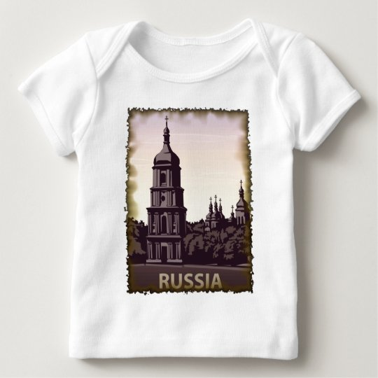 Vintage Russia Baby T-Shirt