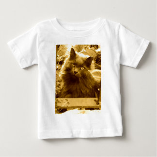 Vintage Russian Blue Cat Baby T-Shirt