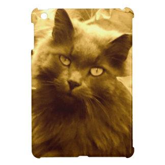 Vintage Russian Blue Cat iPad Mini Cover