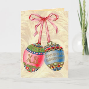 Russian easter gifts on zazzle vintage russian easter egg card negle Choice Image