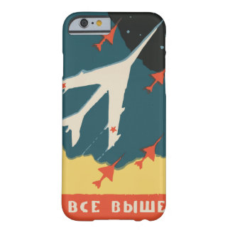 Vintage russian matchbox ads (CCCP Jet Fighters) Barely There iPhone 6 Case