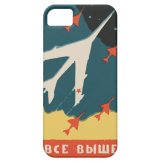 Vintage russian matchbox ads CCCP Jet Fighters iPhone 5 Cover