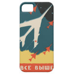 Vintage russian matchbox ads (CCCP Jet Fighters) iPhone 5 Cases