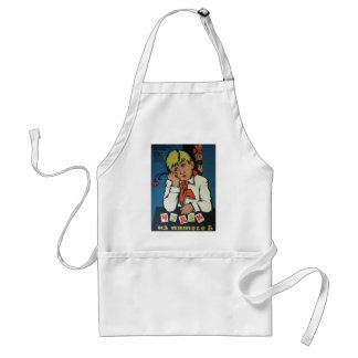 """Vintage Russian Movie Poster """"Чудак из 5 Б"""" Adult Apron"""