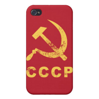Vintage Russian symbol iPhone 4 Covers