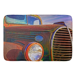Rust Color Bath Mats Rugs Zazzle
