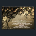 """Vintage Rustic Carved Oak Reception   Hotel Cards<br><div class=""""desc"""">Vintage Rustic Carved Oak Tree Reception Hotel Cards - include these detail cards to inform your guests of your reception location, the reception timeline and hotel information to make planning easier. You can add more information if needed by clicking on the customize button above. See the full matching collection in...</div>"""