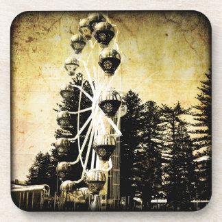 Vintage Rustic Ferris Wheel Coasters