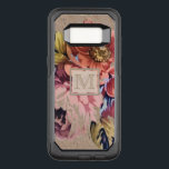 "Vintage Rustic Floral OtterBox Commuter Samsung Galaxy S8 Case<br><div class=""desc"">Personalized,  monogram gifts and accessories with a pretty vintage floral pattern on a rustic,  textured look background.</div>"