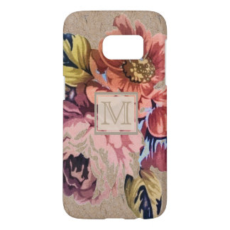 Vintage Rustic Floral Samsung Galaxy S7 Case