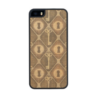Vintage Rustic Hipster iPhone 5/5S Slim Wood Case Carved® Maple iPhone 5 Slim Case