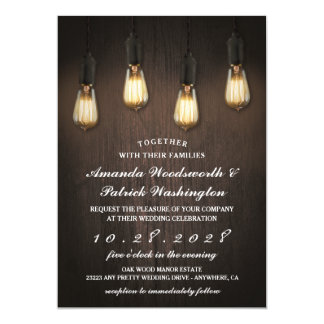 Western Themed Wedding Invitations & Announcements | Zazzle