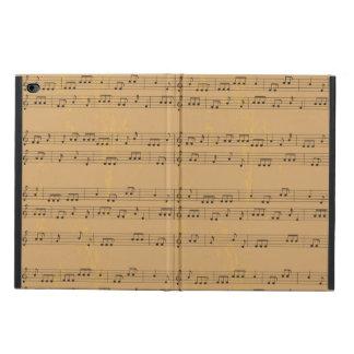 Vintage Rustic Music-Sheet Powis iPad Air 2 Case