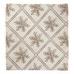 Vintage Rustic Snowflake Kerchiefs