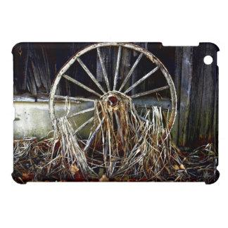 Vintage Rustic Wagon Wheel Artwork iPad Case