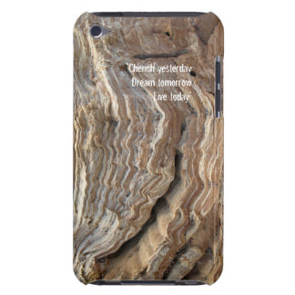 Vintage rustic wood texture iPod Touch Case