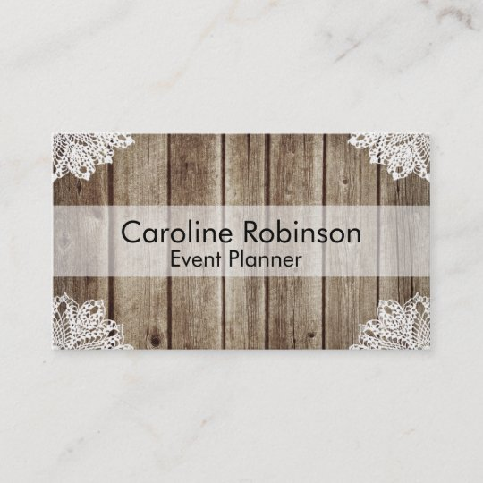 Vintage rustic wooden lace custom business cards zazzle vintage rustic wooden lace custom business cards colourmoves