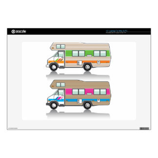 Vintage RV Decal For Laptop