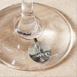 Vintage Sacré-Coeur de Montmartre in Paris Photo Wine Charm