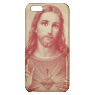 Vintage Sacred Heart of Jesus iPhone Case