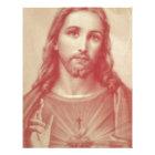 Vintage Sacred Heart of Jesus Letterhead