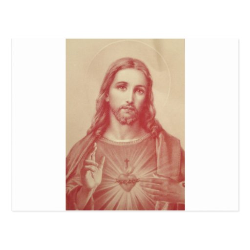 Vintage Sacred Heart of Jesus Post Cards