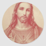 Vintage Sacred Heart of Jesus Stickers