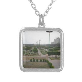Vintage Safari Hakuna Matata Park.jpg Silver Plated Necklace