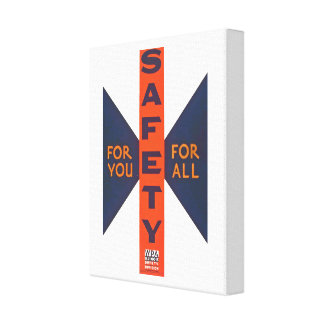 Vintage Safety For You Canvas Print
