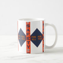 Vintage Safety For You Coffee Mug