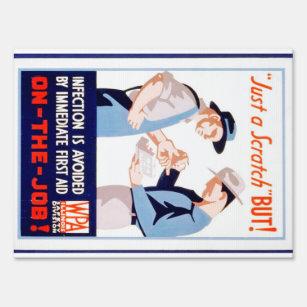 Vintage Safety Signs Zazzle